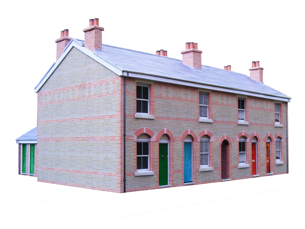 Exceptional image within free printable model railway buildings